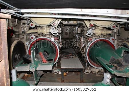 Torpedo Launcher Area ,kursura museum