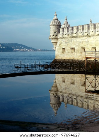 Torre de Belem, Belem Tower or Tower of St Vincent, Unesco World