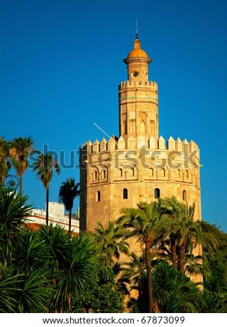Torre de oro in Seville