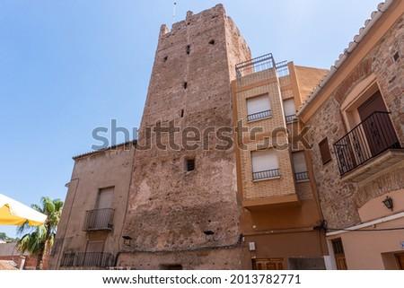 Torre del senyor, in Serra (Valencia, Spain). Foto stock ©