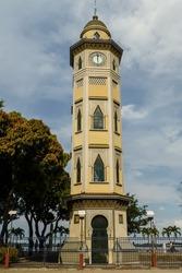 Torre Morisca or Torre del Reloj, Malecon Simon Bolivar, Guayaquil, Ecuador