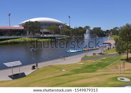 Torrens river, Adelaide, South Australia, Australia #1549879313