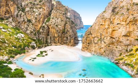 Torrente de Pareis, island of Mallorca, Balearic islands, Spain Foto stock ©