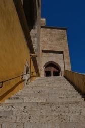 Torres de Quart (XV century) one of the doors to the old city Valencia, Spain