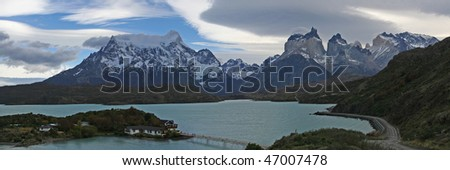 Torres del  Paine - stock photo