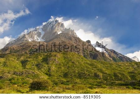 Torres del paine NP landscape, Chili