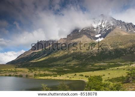Torres del paines NP landscape, Chili