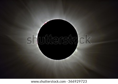 Total Solar Eclipse in Svalbard on March 20, 2015