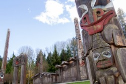Totem Pole at the Museum of Anthropology.
