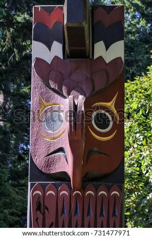 Totem Pole Detail #731477971