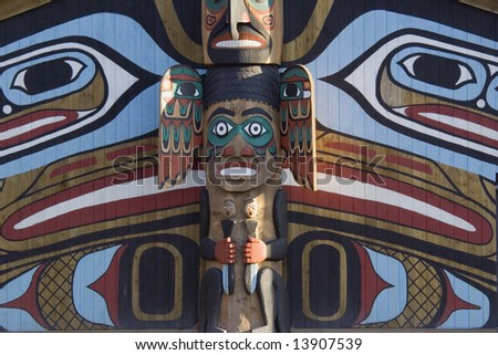 totem pole - north american tribal culture