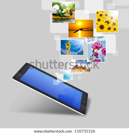 touch tablet concept images