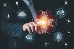 Touch the future,Interface technology, The future of user experience, New technology bigdata and business process strategy, Digital transformation change management, Creating innovative technologies.