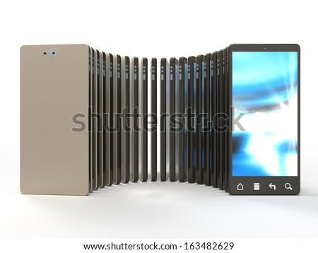 touchscreen smart phones
