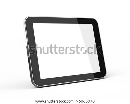 Touchscreen Tablet PC with blank screen