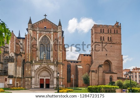 Toulouse Cathedral is a Roman Catholic church located in the city of Toulouse, France
