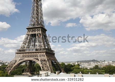 Tour Eiffel Paris *** Local Caption ***