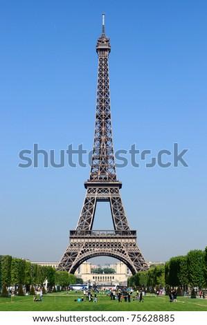 Tour Eiffel under blue sky