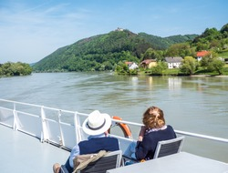 Tourism shipping on the Danube