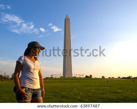 Tourist in Washington DC