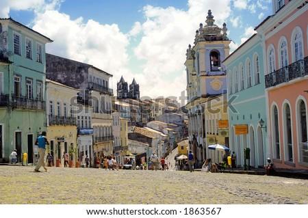Tourist point in Salvador da Bahia - Brazil
