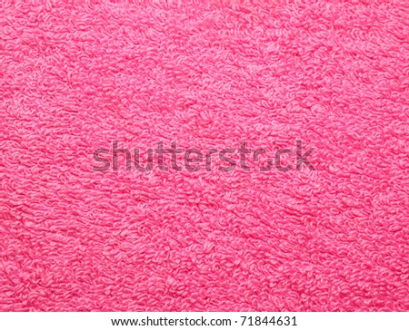 Towel. A background