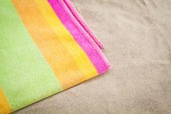 towel beach