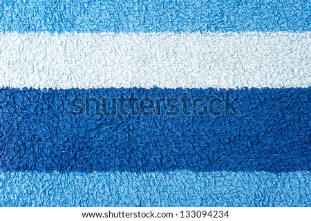 Towel texture blue