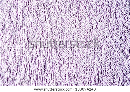 Towel texture purple