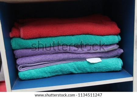 towels in the wardrobe #1134511247