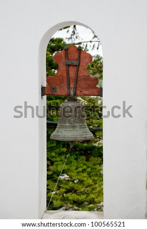 tower bell - stock photo