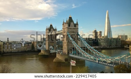 tower bridge  #229417405