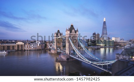Tower Bridge in London, UK #1457982425
