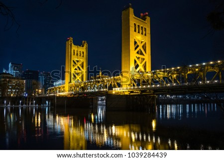 Tower Bridge Sacramento #1039284439