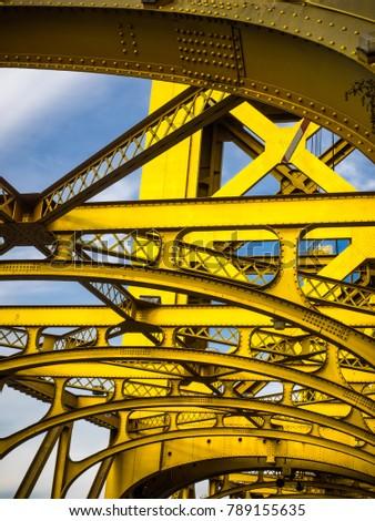 Tower bridge sacramento California  #789155635