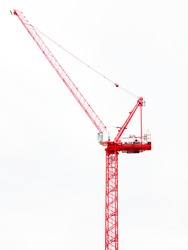 Tower construction crane