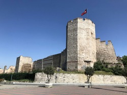 Tower in the wall of Constantinople