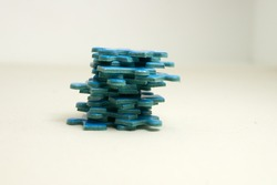 tower of blue puzzles