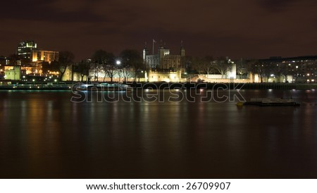 Tower of London. Night shot