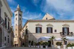 Tower of Trani Cathedral (Cattedrale di San Nicola Pellegrino), Trani, Puglia (Apulia), Italy