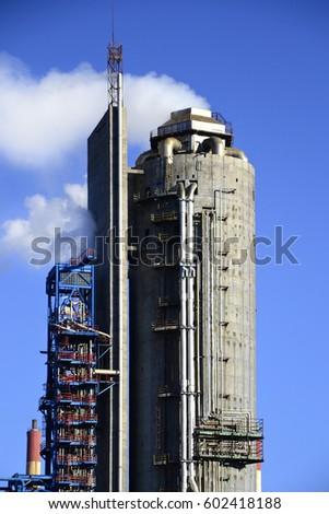 Tower precipitating ammonia #602418188