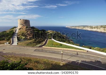 Tower Torre Aragonese in Santa Teresa di Gallura, Sardinia, Italy