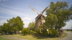 Tower windmill in Endorf / Ermsleben / Harz