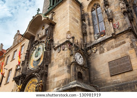 Tower with Astronomical Clock in Prague