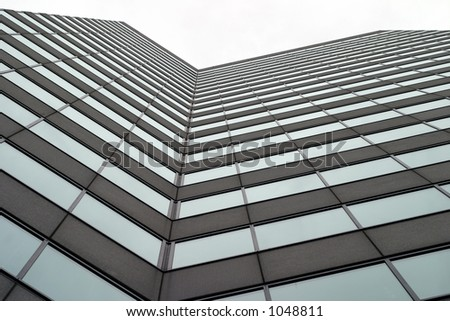 Towering business building