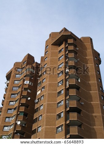Towers of flats