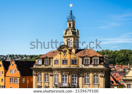 Town Hall from Schaebisch Hall #1539679100