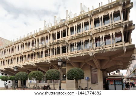 town hall of Ciudad Real, La Mancha, Spain Foto stock ©