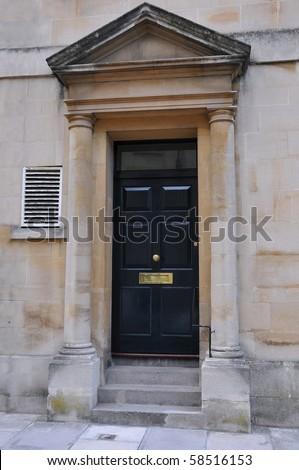 Town House Front Door in London