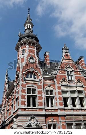 Town house in Leuven Stock foto ©